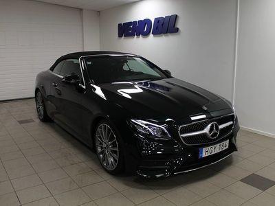 begagnad Mercedes E300 Cabriolet AMG Keyless go