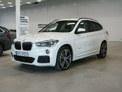 begagnad BMW X1 xDrive 20d M-Sport Navi Hud Drag HiFi Backkamera