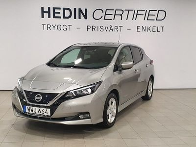 begagnad Nissan Leaf 40 KWH N-CONNECTA INK VINTERHJUL