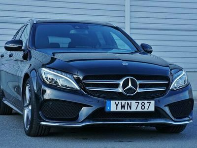 begagnad Mercedes 220 C Benz C4M AMG Panorama Värmare Navi Drag 2018, Kombi Pris 319 800 kr