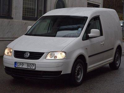 begagnad VW Caddy 2.0 EcoFuel 109hk MOMS