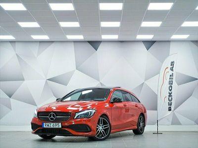 begagnad Mercedes CLA220 Shooting Brake d AMG / Night / Värmare