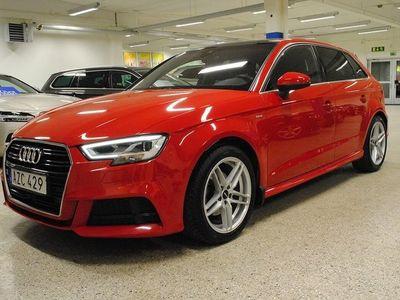 begagnad Audi A3 Sportback 1.4 TFSI 150hk Ultra S-Line Nav. Drag