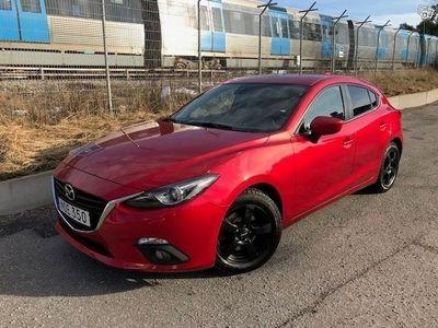 begagnad Mazda 3 Vision Aut 120hk fullserv, rostskydd -14