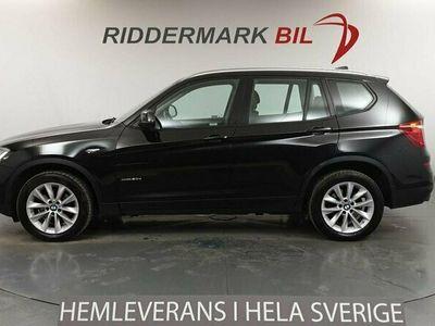 begagnad BMW X3 xDrive20d, F25 (190hk)