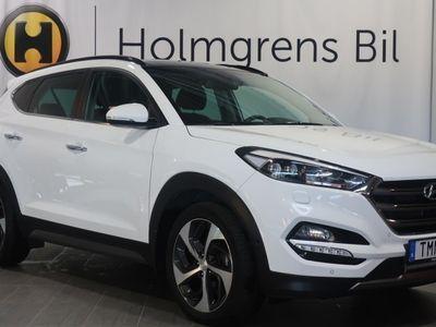 gebraucht Hyundai Tucson 1.6 T-GDI Premium Aut 4WD (177hk)