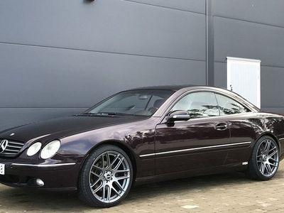 begagnad Mercedes 500 CL BenzFullutrustad 2001, Personbil 124 900 kr
