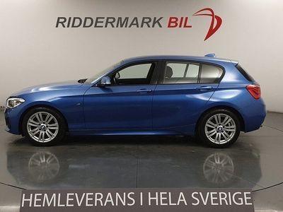 begagnad BMW 120 d M Sport HiFi Drag EU6 190hk