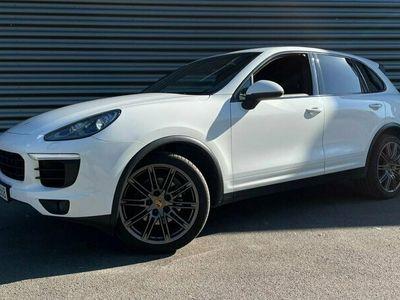 begagnad Porsche Cayenne Diesel S I Panorama I Dragkrok I Läder