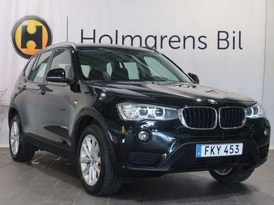 gebraucht BMW X3 xDrive 20d Sport (190hk) reg datum 2016-10-07