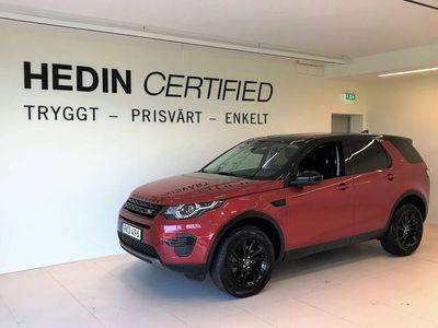 begagnad Land Rover Discovery Sport 4WD 180hk Luxury Edition / Dragkrok