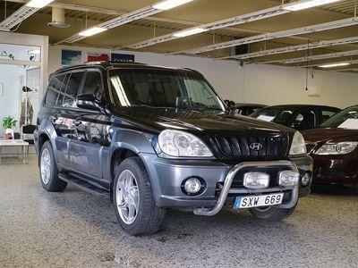 gebraucht Hyundai Terracan 3,5 4WD/Auto/DRAG/195HK -02