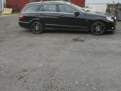begagnad Mercedes E350 CDI BlueEFFICIENCY AMG