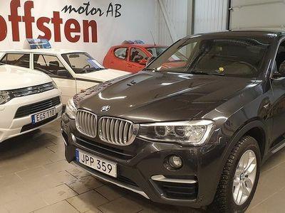begagnad BMW X4 xDrive20d Steptronic xLINE 190hk