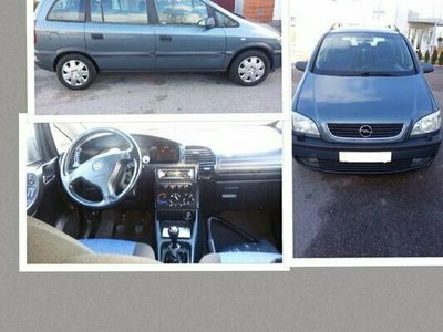 begagnad Opel Zafira 2000
