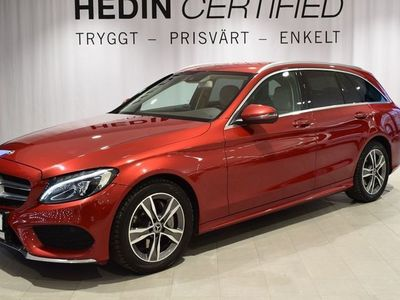 begagnad Mercedes C220 4matic / AMG-paket / dragkrok