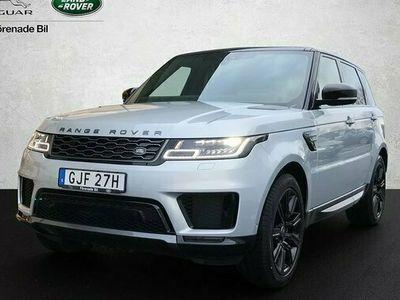 begagnad Land Rover Range Rover Sport PHEV 404hk HSE Dynamic Silver