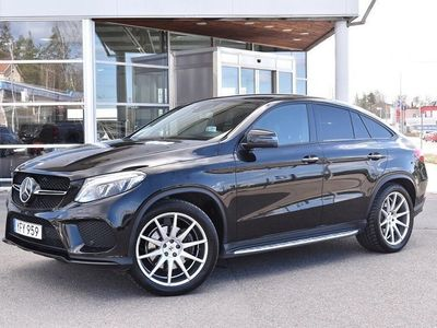 begagnad Mercedes GLE350 D COUPE AMG DISTRONIC H&K