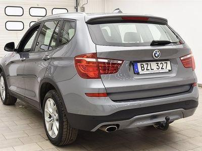 begagnad BMW X3 xDrive20d 190hk NAVI / 2821MIL / AUT