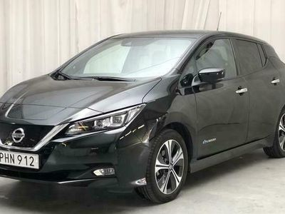 begagnad Nissan Leaf 5dr 40 kWh 2019, Halvkombi Pris 239 900 kr