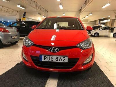 begagnad Hyundai i20 5-dörrar 1.2 86hk lågmilare