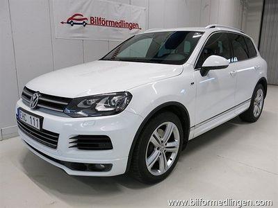 begagnad VW Touareg 4.2 V8 TDI Aut. R-line Sport Premium Navi Drag Sv-såld m