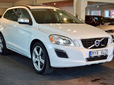 begagnad Volvo XC60 D5 AWD R-Design Drag Gps 215hk