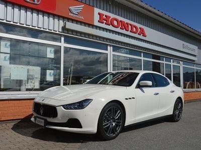 begagnad Maserati Ghibli Automat 330hk SVENSKSÅLD