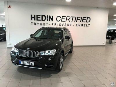 brugt BMW X3 xDrive20d Steptronic, 190hk, 2016