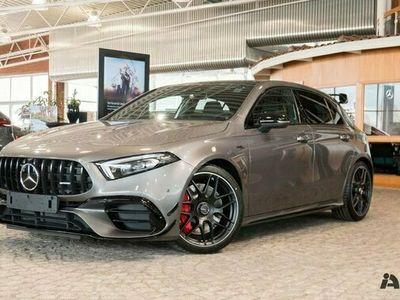 begagnad Mercedes A45 AMG A BenzS 4MATIC Premiumpaket Plus 2021, Halvkombi Pris 697 540 kr