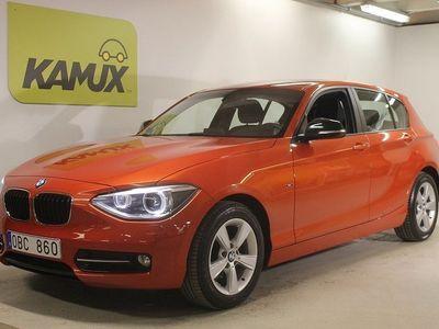 begagnad BMW 118 d Sportline Ljuspaket Aux S&V-hjul
