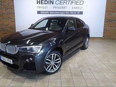 used BMW X4 xDrive 30d Steptronic (258hk) M-sport / Vinterhjul