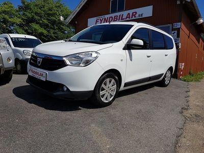 begagnad Dacia Lodgy 1,5DCI 7SITS /ÅRSSKATT 1363.-/ 0,44 L/100/FULLSERV