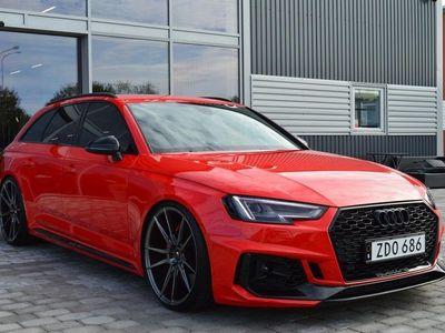 begagnad Audi RS4 2.9 TFSI Quattro V6 530hk -18