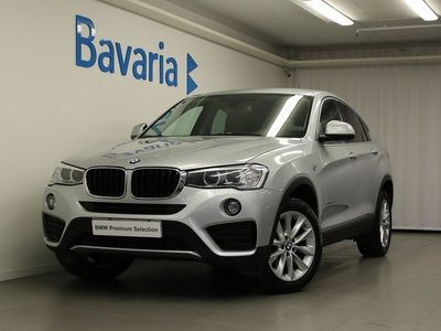 begagnad BMW X4 20d xDrive Backkamera Nav Drag Aut -16