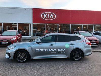 begagnad Kia Optima Hybrid Sport Wagon P-HEV Pluspaket