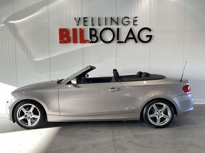 begagnad BMW 120 i Convertible Advantage 170hk