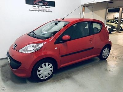 begagnad Peugeot 107 Nybes/Ac/Toppskick/14500MIL