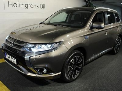 begagnad Mitsubishi Outlander P-HEV 2.0 Hybrid 4WD Business Navi