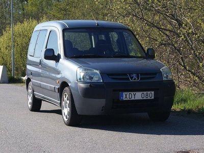begagnad Peugeot Partner 1.6 109hk Lågmil