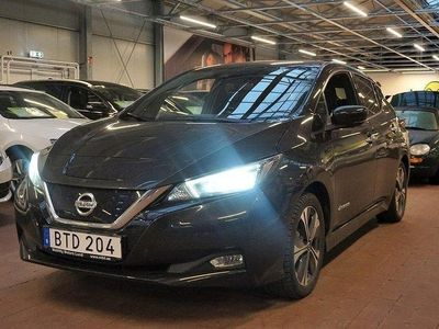 begagnad Nissan Leaf 40 kWh Single Speed Tekna, 149hk,