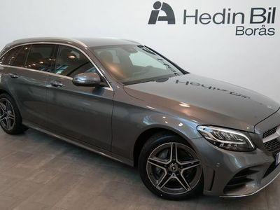 begagnad Mercedes 220 C4MATIC // AMG Line // Dargkrok // Navigation // parkeringssensorer // Backkamera //