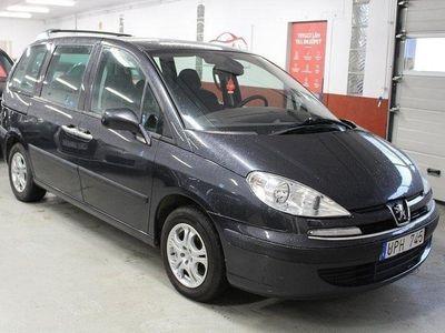 begagnad Peugeot 807 2.2 158hk 7 sits Nybesiktad