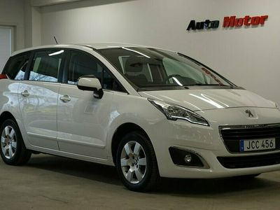begagnad Peugeot 5008 1.2 PureTech Euro 6 7-sits 130hk