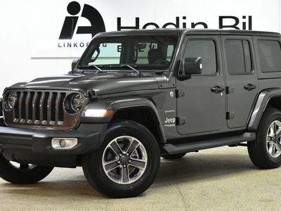 begagnad Jeep Wrangler Unlimited Nya Sahara 2.0T 271hk