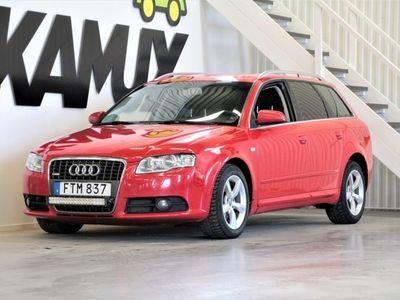 begagnad Audi A4 2,0 TDi   S-Line   HEMLEVERANS