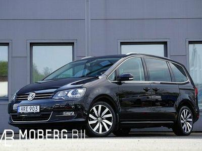begagnad VW Sharan 2.0 TDI 177hk 4M 7-sits Premium Navi