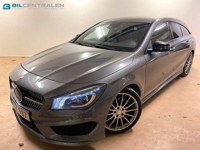 begagnad Mercedes CLA220 Shooting Brake d AMG Night Paket