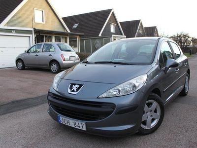 begagnad Peugeot 207 5-dörrar 1.4 ny besikt