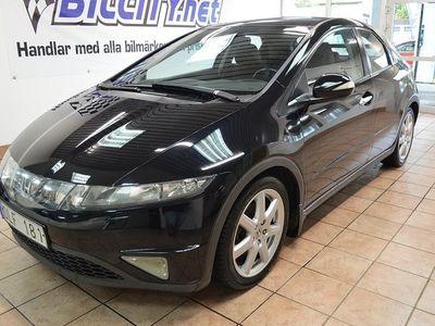 begagnad Honda Civic 5-dörrar 1.8 i-VTEC 140hk -08